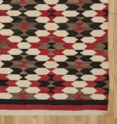 Rejuvenation Navajo Rug w/ Stepped ZigZag Diamond Pattern