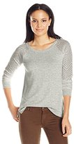 Lucky Brand Women's Drapey Pullover Sweater