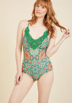 Take It as a Design One-Piece Swimsuit in XL