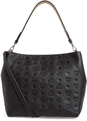 MCM Leather Klara Hobo Bag