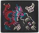 Gucci Black Chinese Dragon Wallet