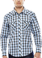 Wrangler Long-Sleeve Western Woven Shirt