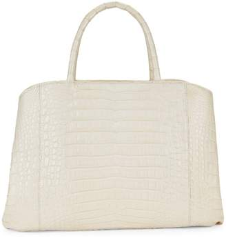 Nancy Gonzalez Soft Crocodile Leather Satchel