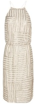 Diane von Furstenberg Samala Embellished Silk Dress