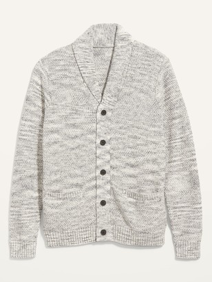 Old Navy Textured Shawl-Collar Button-Front Cardigan Sweater for Men