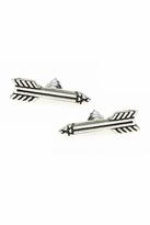 House Of Harlow Antiqued Arrow Stud Earrings in Silver