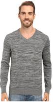 Perry Ellis Stripe V-Neck Sweater