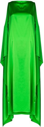 BERNADETTE Judy flared cape dress