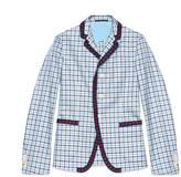 Gucci Iris check cotton twill jacket