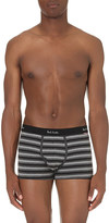 Paul Smith Stripe-print stretch-cotton trunks