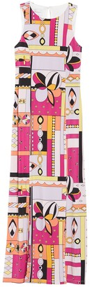 Donna Morgan Printed Sleeveless Jersey Maxi Dress