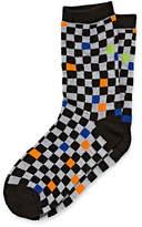 Arizona Boys 1 Pack Checker Print Sock