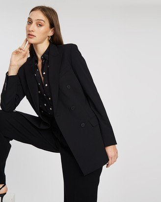 Theory Double-Breasted Tailor Jacket