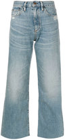 Simon Miller washed wide-leg jeans