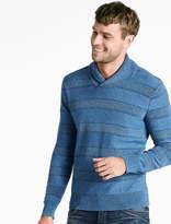 Lucky Brand Indigo Shawl Sweater