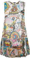 Just Cavalli printed sleeveless dress - women - Polyester/Viscose - 38