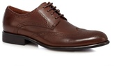 J By Jasper Conran Brown Leather Brogues