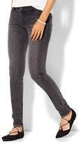 New York & Co. Soho Jeans - SuperStretch Legging - Milky Way Grey Wash