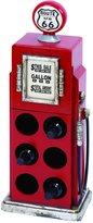 Benzara Gas Pump Wine Rack with Unique and Solid Design