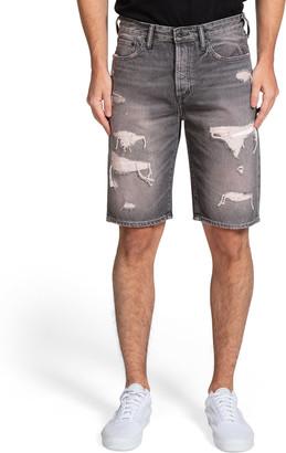 PRPS Men's Butler Distressed Cutoff Shorts