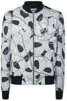Kenzo Flower Rope Stripe Bomber Jacket