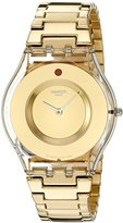 Swatch Women's SFK399G Analog Display Quartz Gold Watch