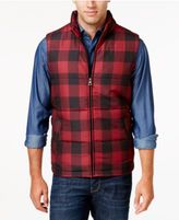 Weatherproof Vintage Men's Big and Tall Plaid Puffer Vest, Classic Fit