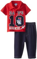 Bon Bebe 2 Piece Pant Set (Baby) - Dads Rookie-3-6 Months