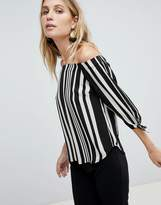 Oasis Stripe Bardot Top