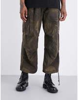 Yohji Yamamoto Army Cropped Trousers