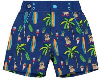 Andy & Evan Baby Boy's Printed Swim Shorts