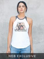 Junk Food Clothing Star Wars The Force Awakens Raglan Tank-ew/jb-m