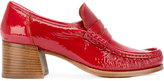 Lathbridge By Patrick Cox stacked heel loafers
