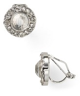 Lauren Ralph Lauren Faceted Crystal Stud Clip-On Earrings