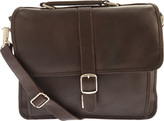 Piel Leather Small Flap-Over Laptop Brief 2991