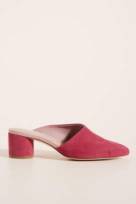 Anthropologie Carson Heeled Mules