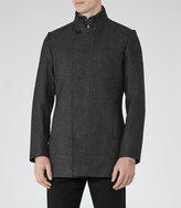 Reiss Forceful Funnel Collar Jacket