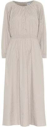 S Max Mara Guelfi cotton-blend midi dress
