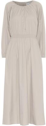 S Max Mara Guelfi cotton-blend midi dress