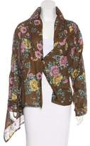 Dries Van Noten Embroidered Abstract jacket