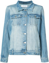 Anine Bing Vintage Wash Denim Jacket