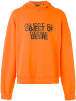 Misbhv - 'Object of Desire' hoodie - men - Cotton/Polyamide - M