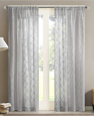 "Madison Home USA Irina 50"" x 84"" Sheer Rod Pocket Curtain Panel"