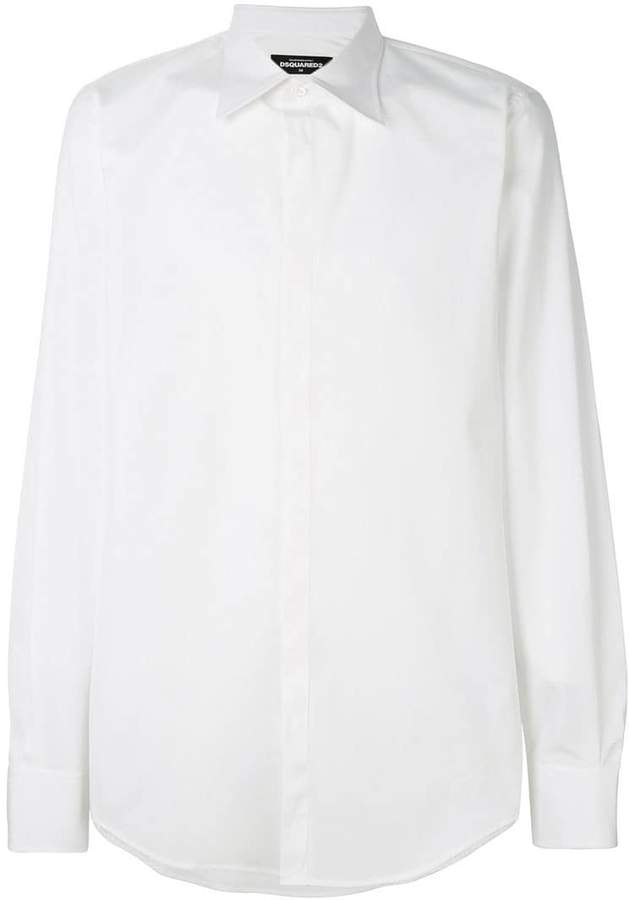 DSQUARED2 point-collar shirt