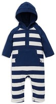 Offspring Boys' Hooded Striped Coverall - Baby