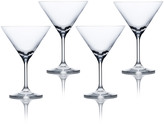 Mikasa Laura Set of 4 Martini Glasses