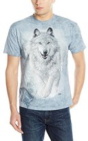The Mountain Men's Snow Plow Wolf Adult T-Shirt