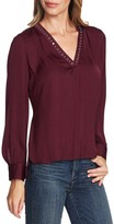 Vince Camuto Studded Rumple Blouse