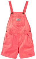 Osh Kosh Baby Girl Braided Cuffed Shortalls