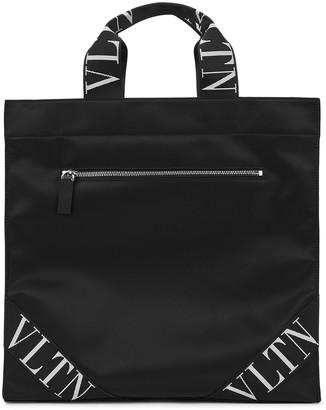Valentino VLTN black shell tote